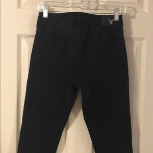American Eagle Outfitters Jeans - Black 360 Super Stretch High Rise Jegging